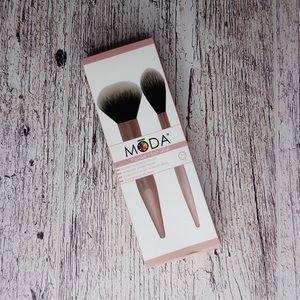 MODA • Powder + Soft Glow Brush Set